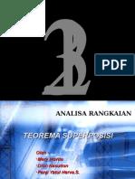 Teorema Superposisi