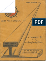 752nd Railway Operating Battalion Co. B Unit History