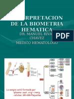 1º Ponencia - Dr. Manuel Rivas Hemoglobina y Hematocrito