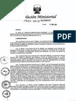 Resolucion Ministerial n 022 2015 Minedu