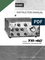 Drake tr4c user manual