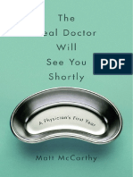 The Real Doctor Will See You Shortly by Matt McCarthy - Excerpt
