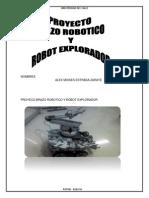 Proyeco Brazo Robotico y Robot Explorado1