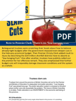 Quotes On Cuts - Apr 2015 (BCTF)