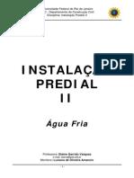 Apostila de Instalações Predias - ÁguaFria