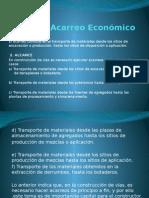 Distancia Acarreo Económico