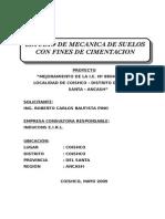 Estudio Suelos - IE 1535