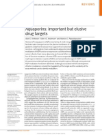 Aquaporins- Important but Elusive Drug Target