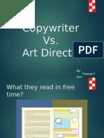 Copywriter vs Art Director