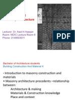LN2(Masonry Architecture)