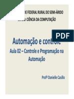 Aula 02 - Controle e Programação Na Automação