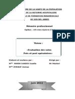 evaluatin des soins en pré et postopératoire.doc