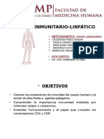Sistema Inmunitario-linfático Sem 4 Crr