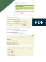 Progresiones Aritmeticas y Geométricas