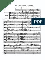 """Haydn Quartet Op. 76 No.2 """"Fifths"""""""