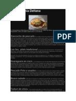 Gastronomía Deltana