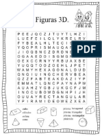 Busca Palabras Figuras 3D