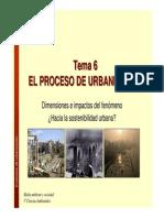 Hacia La Sostenibilidad Urbana