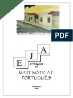 Atividades de Matemática e Portugues 2009