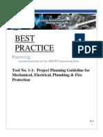 ASHRAE ProjectPlanningGuidelineForMEP FP