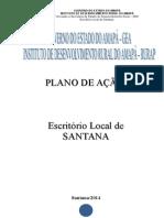 Plano de Ação Local Santana Oficial 2014