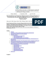 New Guidelines for Potassium Replacement in Clinical Practice
