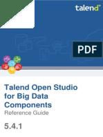 TalendOpenStudio BigData Components RG 5.4.1 En