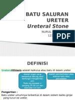 Batu Saluran Ureter