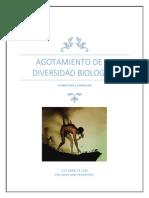 Diversidad Biologica-agotamiento