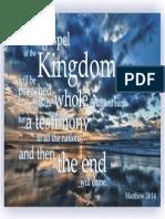 This Gospel of the Kingdom