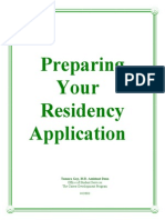 Preparation Your Residency Application