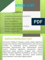 Distribution Sort Asli Kelompok 6