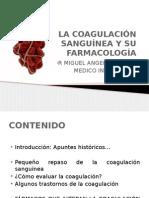 la coagulación sanguínea y su farmacología