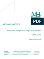 Methanol Safe Handling Manual Final Spanish