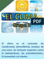 EL CLIMA (GRUPO 3).ppt