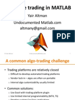 Matlab Real-time Trading Presentation
