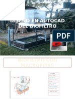 Diseño en Autocad Del Biofiltro