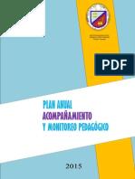 Plan Anual de Monitoreo 2015 - Enrique Lopez Albujar