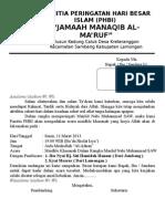 Contoh Undangan Pengurus Takmir Masjid 2 sheet