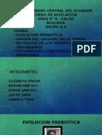 EVOLUCION PREBIOTICA.pptx