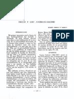 Freud y Lou Andreas-salome