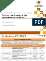 Criterios auditoría PESSO y evaluación CD 2013 - Implementación PESSO (noviembre 2013).pptx