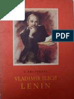 Vladimir Ilich Lenin - Krupskaya
