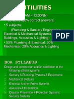 Building Utilities