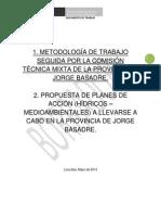 Metodología Establecida en Actas Por La Comisión Mixta
