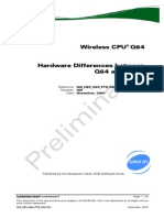 Q64 - Hardware Differences Between Q64 and GR64