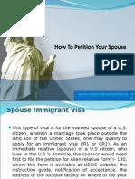 Spouse Immigrant Visa