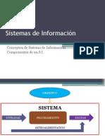 2 - Conceptos y Componentes de Sistemas de Información