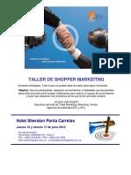 Taller de shopper marketing por Susana Marquis y Eduardo Sebriano, Montevideo Uruguay
