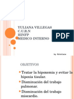 Oxigenoterapia Yuliana Villegas